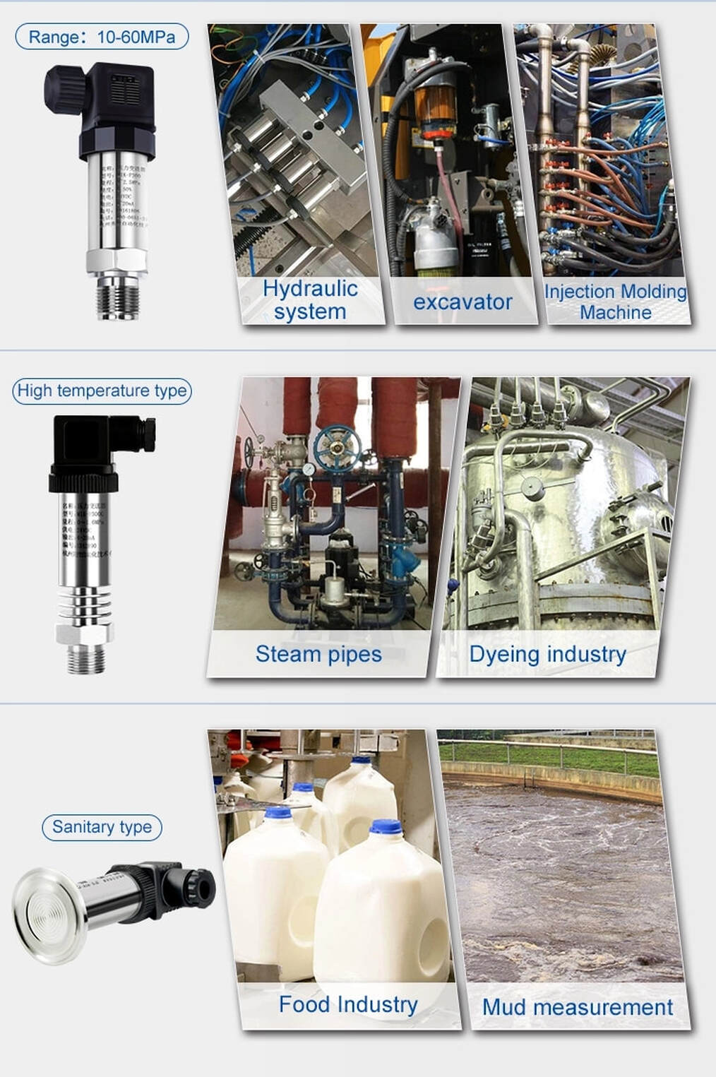 Auto SP Pressure Transmitter Marine Industrial Application