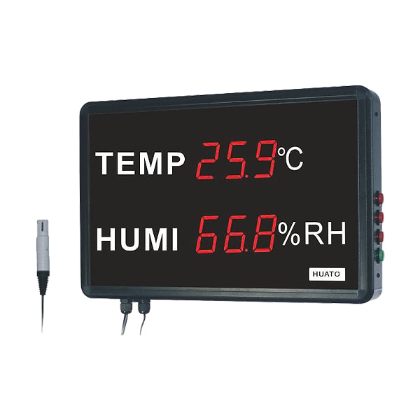 Huato HE218A Large LED Display Thermohygrometer