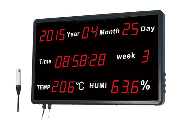 Huato HE218B-RS485 Large LED Display Thermohygrometer